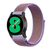 Strap-it® Samsung Galaxy Watch 4 - 40mm nylon band (lila)