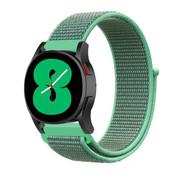 Strap-it® Samsung Galaxy Watch 4 - 44mm nylon band (mint)