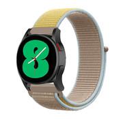 Strap-it® Samsung Galaxy Watch 4 - 44mm nylon band (camel)