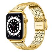 Strap-it® Apple Watch roestvrij stalen band (goud)