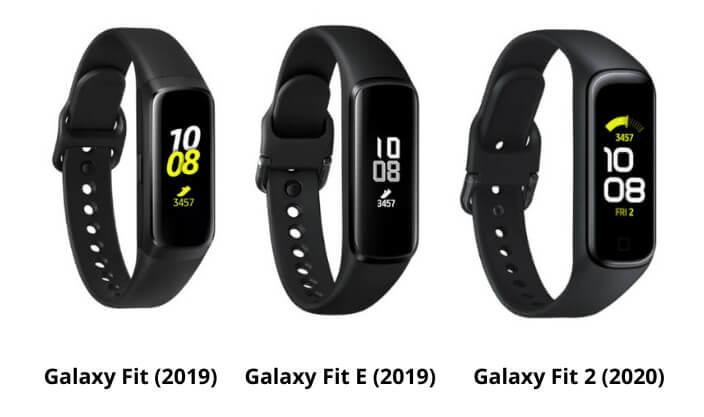 Alle modellen van de Samsung Galaxy Fit