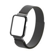Strap-it® Xiaomi Mi Watch Lite Milanese band (zwart)
