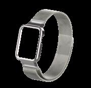 Strap-it® Xiaomi Mi Watch Lite Milanese band (zilver)