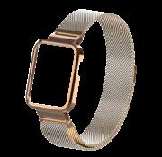 Strap-it® Xiaomi Mi Watch Lite Milanese band (rosé goud)