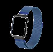 Strap-it® Xiaomi Mi Watch Lite Milanese band (blauw)