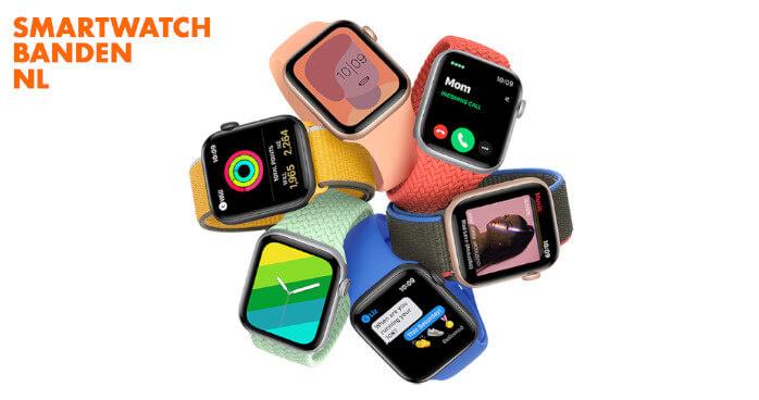Verschillende Apple Watch modellen