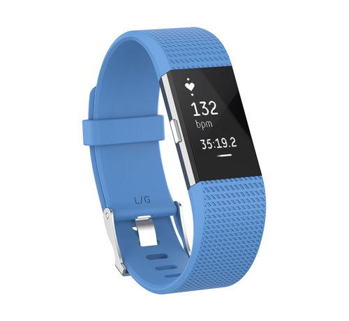 Strap-it® Strap-it® Fitbit Charge 2 siliconen bandje (hemelsblauw)