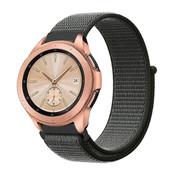 Strap-it® Samsung Galaxy Watch 42mm nylon band (groen)