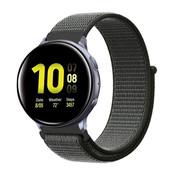 Strap-it® Samsung Galaxy Watch Active nylon band (groen)