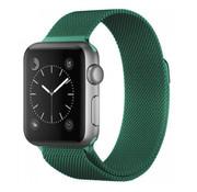 Strap-it® Apple Watch Milanese band (groen)