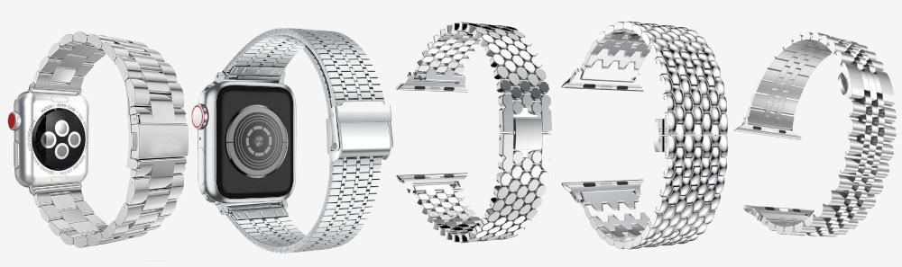 Apple Watch 7 bandjes zilver