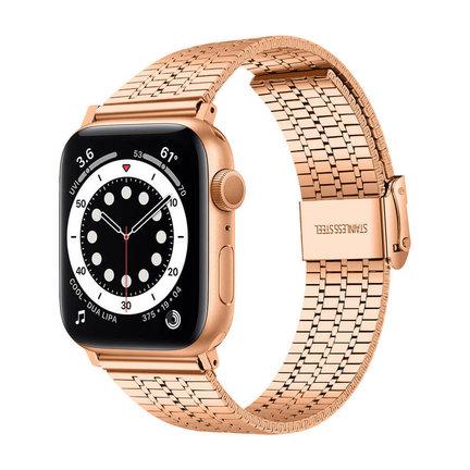 Apple Watch 7 stalen bandjes
