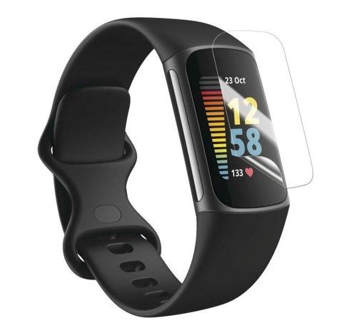 Strap-it® Strap-it® Fitbit Charge 5 screenprotector (plastic folie)