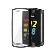 Strap-it® Fitbit Charge 5 TPU beschermhoes (zwart)