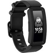 Strap-it® Fitbit Ace 2 siliconen bandje (zwart)