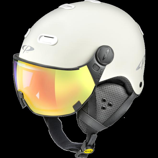 CP Helmets Carachillo Stone met Multicolour Vario Spiegel Vizier