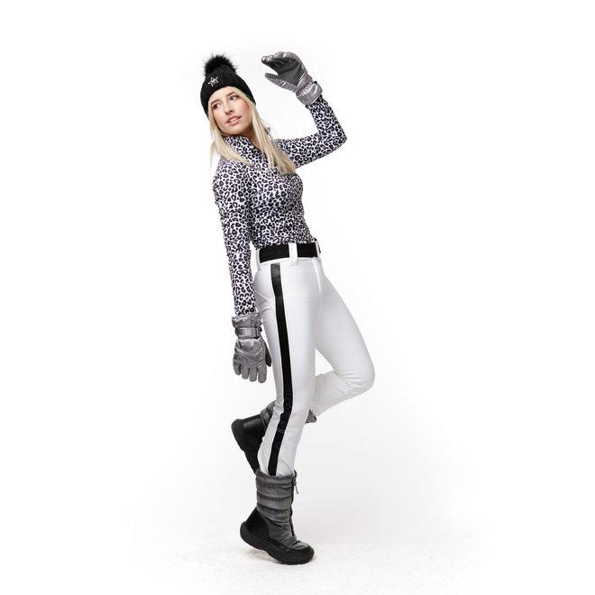 Kou Sportswear Dames Ski Pully Panterprint