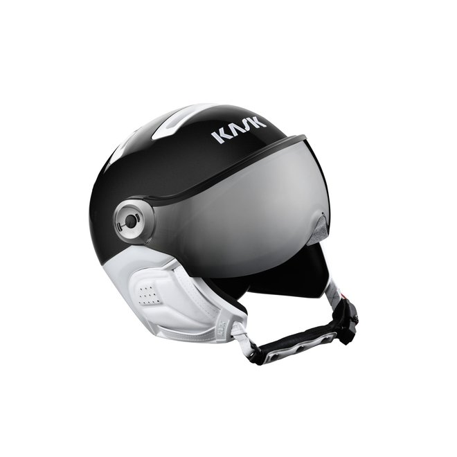 Kask Helm Classic Sport + visor Zwart