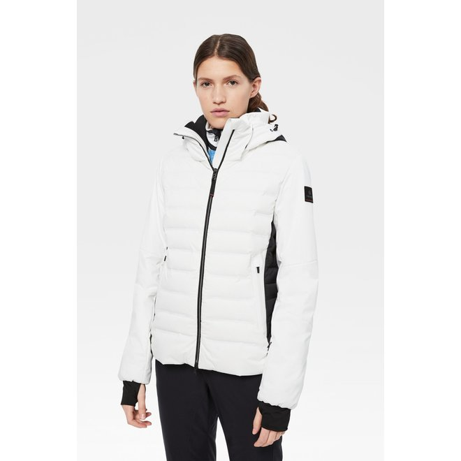 Fire + Ice Candra-D Dames Wintersport Jas Wit
