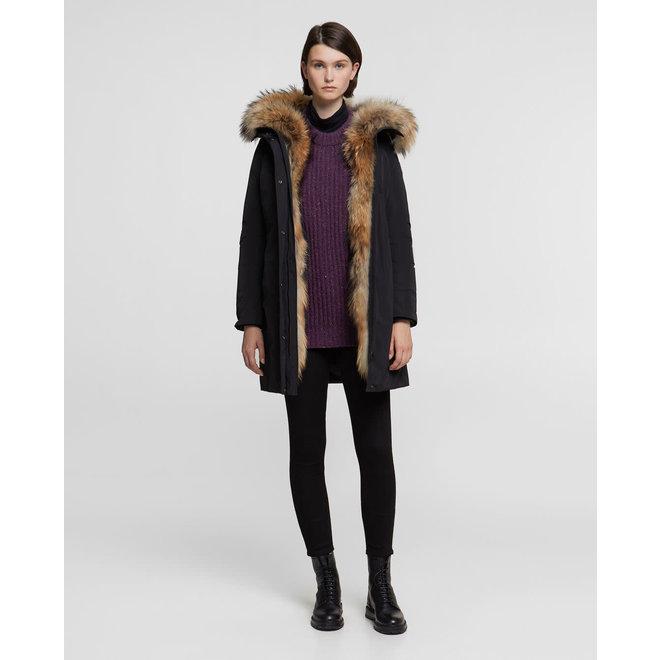 Woolrich Dames Luxury Boulder Jas Zwart