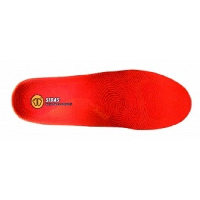 Sidas 3 Feet Winter Medium Inlegzolen Sport Rood