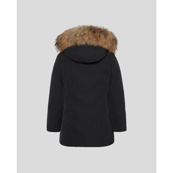 Woolrich Meisjes Luxur Arctic Parka Winterjas Zwart