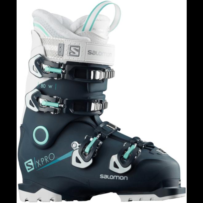 Salomon Skischoenen Dames S/PRO 80 Zwart/Scuba Blauw/W
