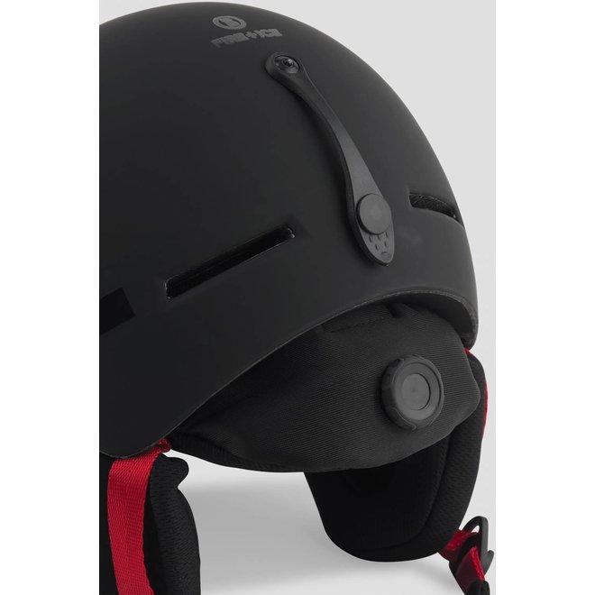 Fire+Ice Ski Helm Logo Zwart