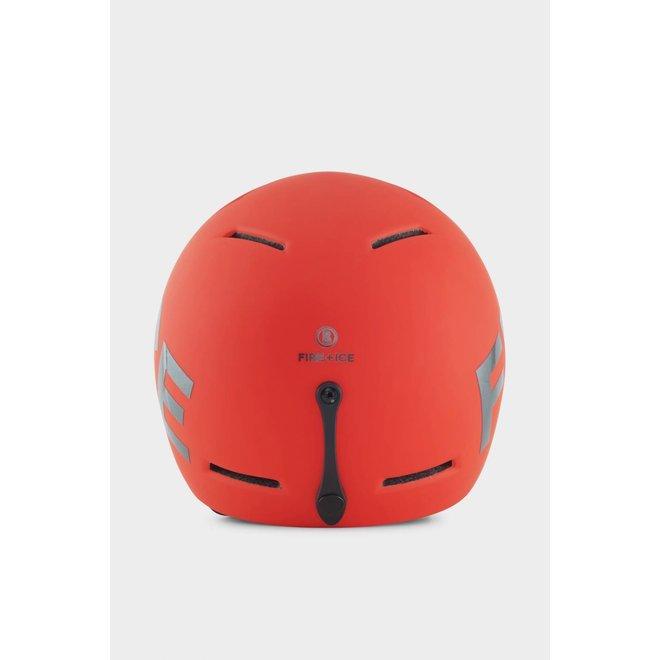 Fire+Ice Ski Helm Logo Rood