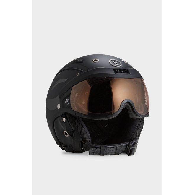 Fire + Ice Bogner B-visor Skihelm Zwart
