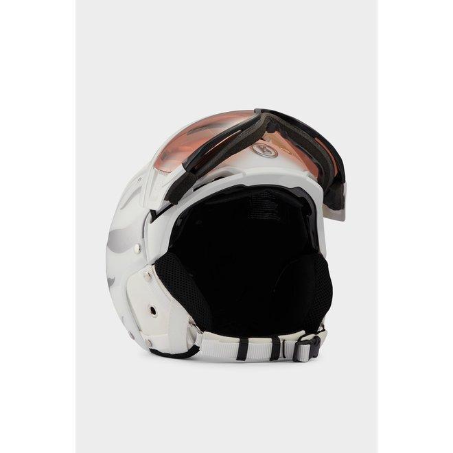 Fire + Ice Bogner B-visor Skihelm Wit