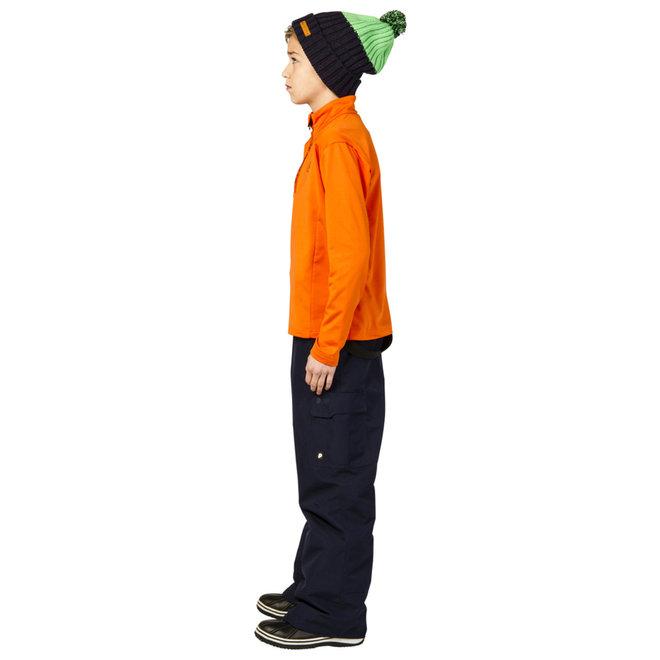 Protest Willowy Kids Jongens Ski Pully Oranje