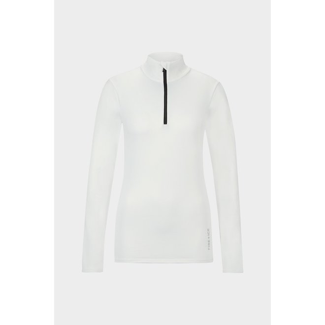 Fire + Ice Margo2 Dames Ski Pully Wit