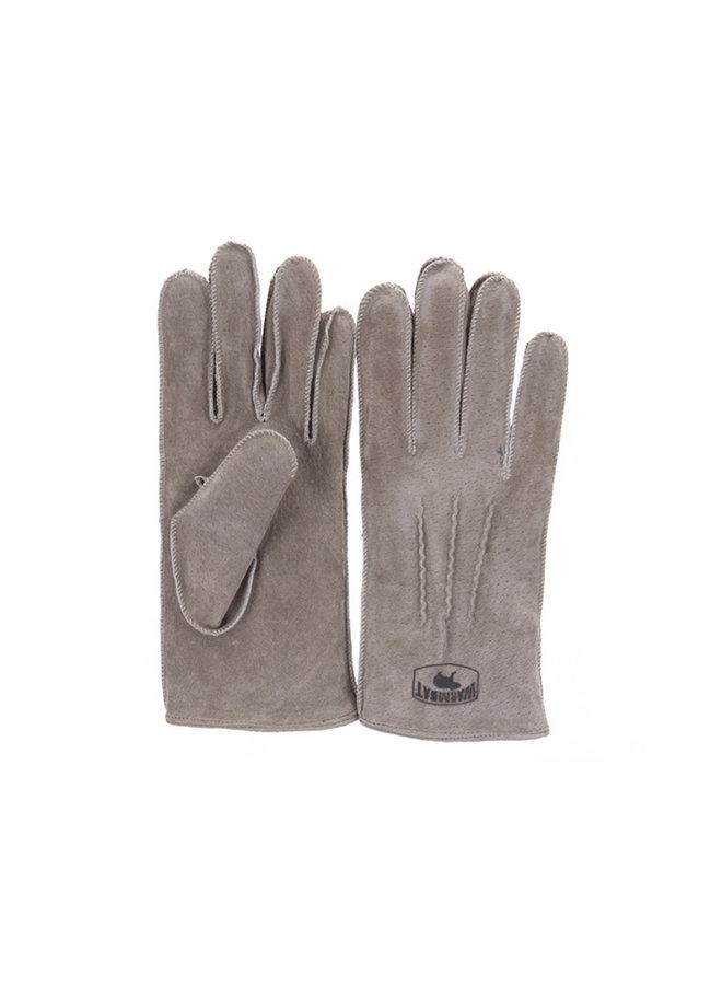 Warmbat Gloves Women Suede Taupe