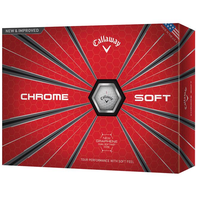 Callaway Chrome Soft Golfballen Wit