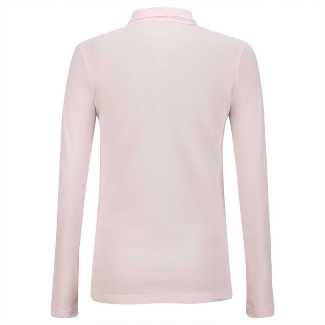 Golfino Dames Silver Touch Troyer Roze