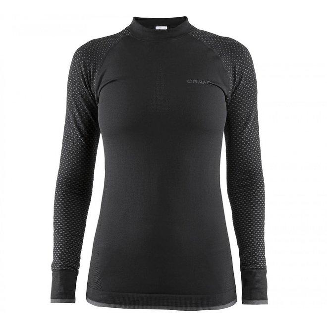 Craft Dames Warm Intensity Thermoshirt Zwart