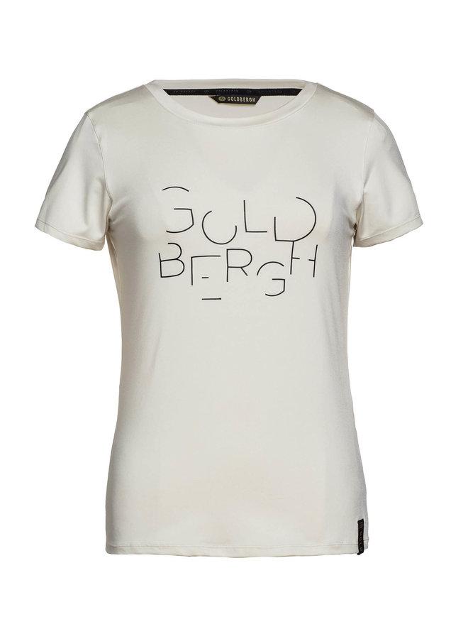 Goldbergh Michelle Dames T-shirt Creme