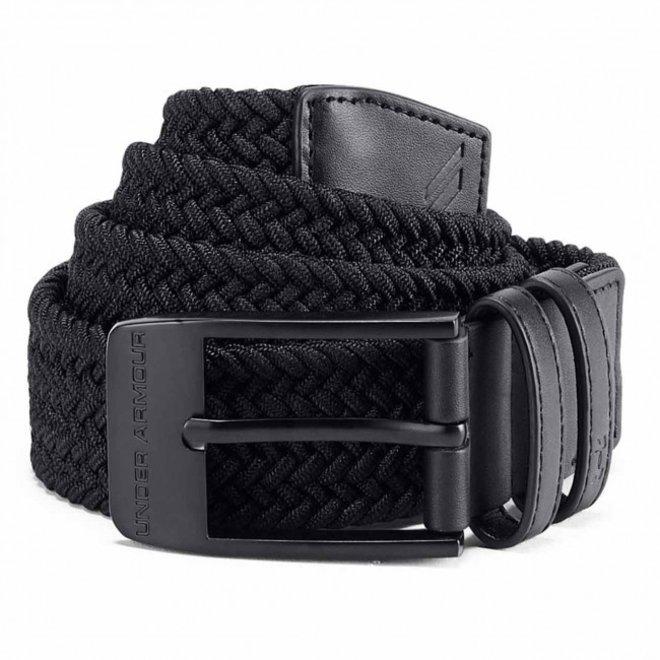 Under Armour Braided Belt 2.0 Black/Black