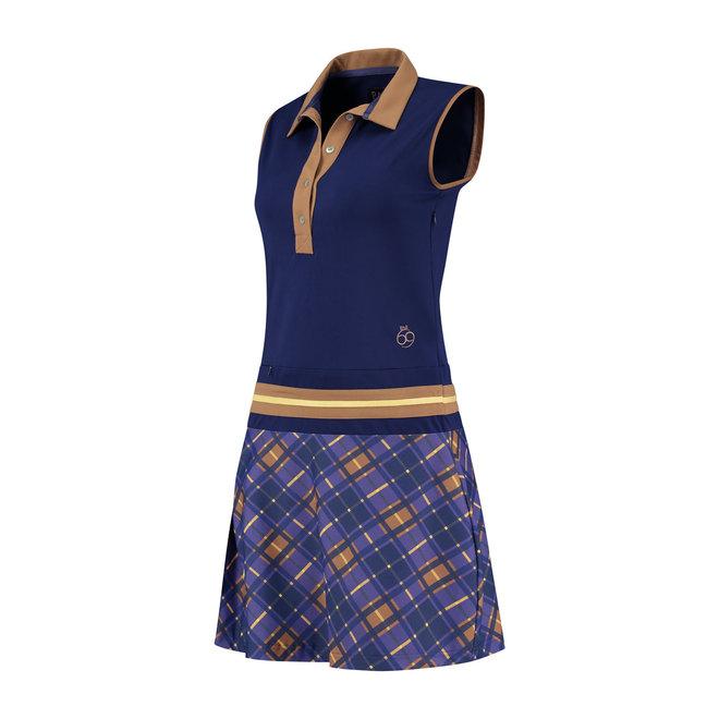 Par 69 Beaudille Dames Dress Blauw