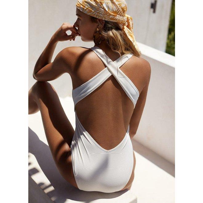 Beachlife Bathingsuit - Foam Whisper White