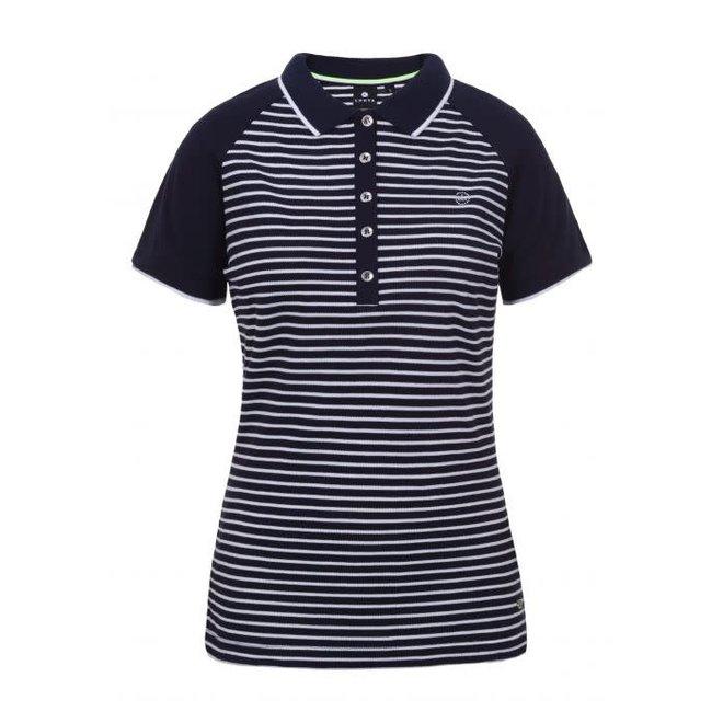 Luhta Arantila Polo Shirt Donkerblauw