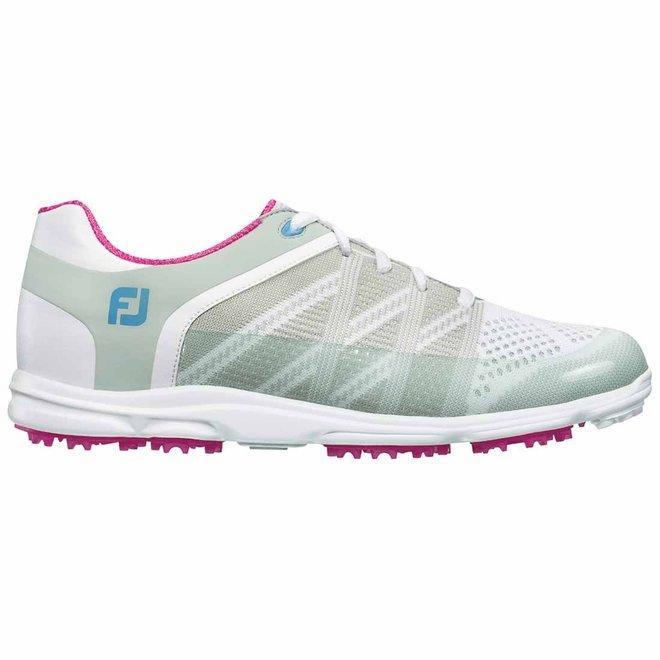 Footjoy Dames Golfschoen Sport SL Wit/roze