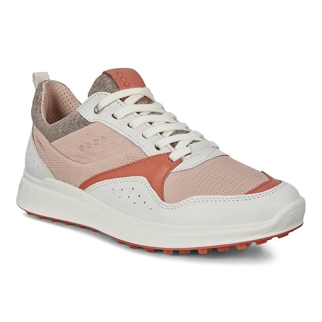 Dames Golf S-Casual WhiteApricot Wit