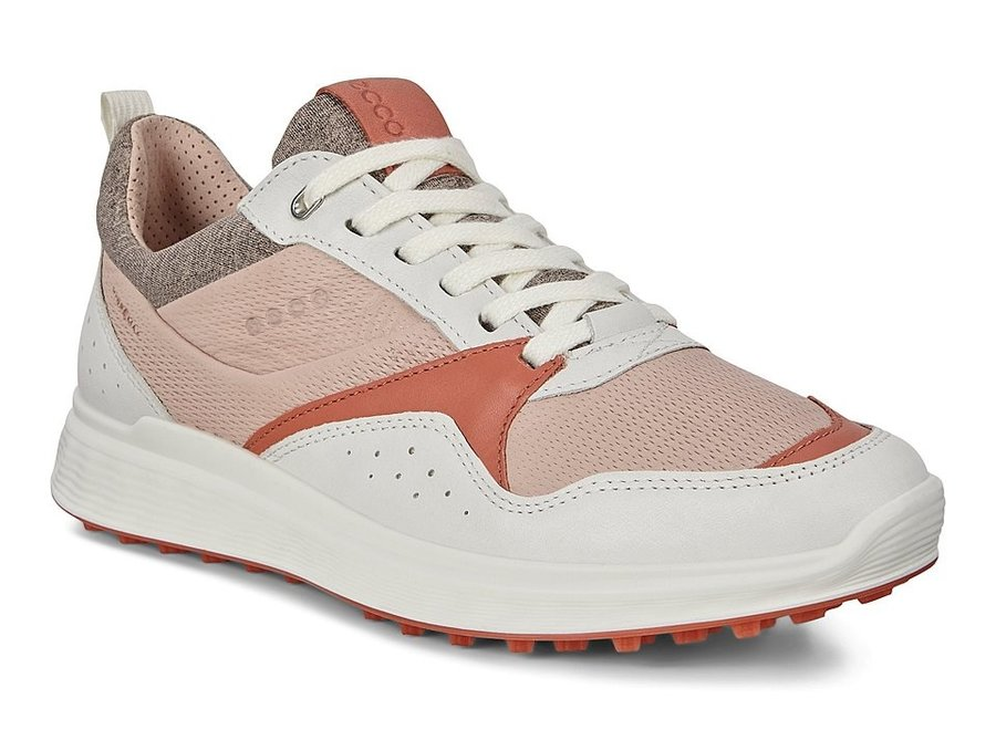 Ecco Dames Golf S-Casual WhiteApricot Wit