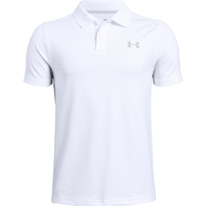 Under Armour Kids Performance Golf Polo 2.0 Wit