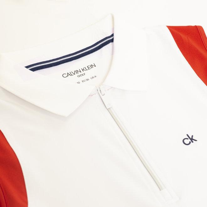 Calvin Klein Dames Polo Zip