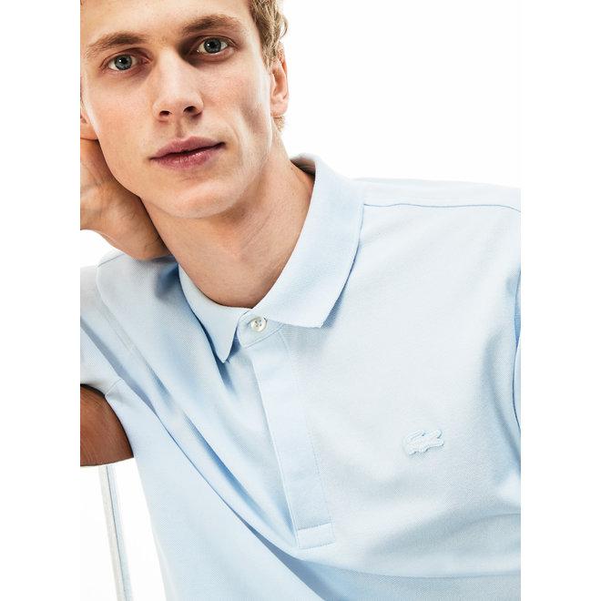 Lacoste Heren Short Sleeve Polo 011 met Lichtblauw Logo
