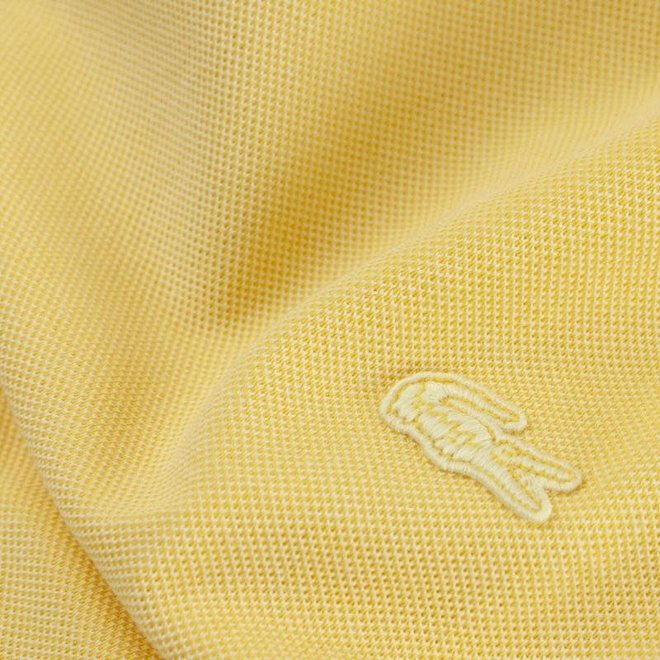 Lacoste Heren T-shirt 01 Rood/Geel