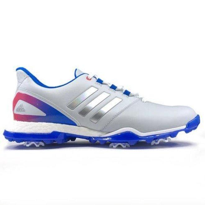 Adidas Dames Adipower Boost 3 Golfschoen Zilver